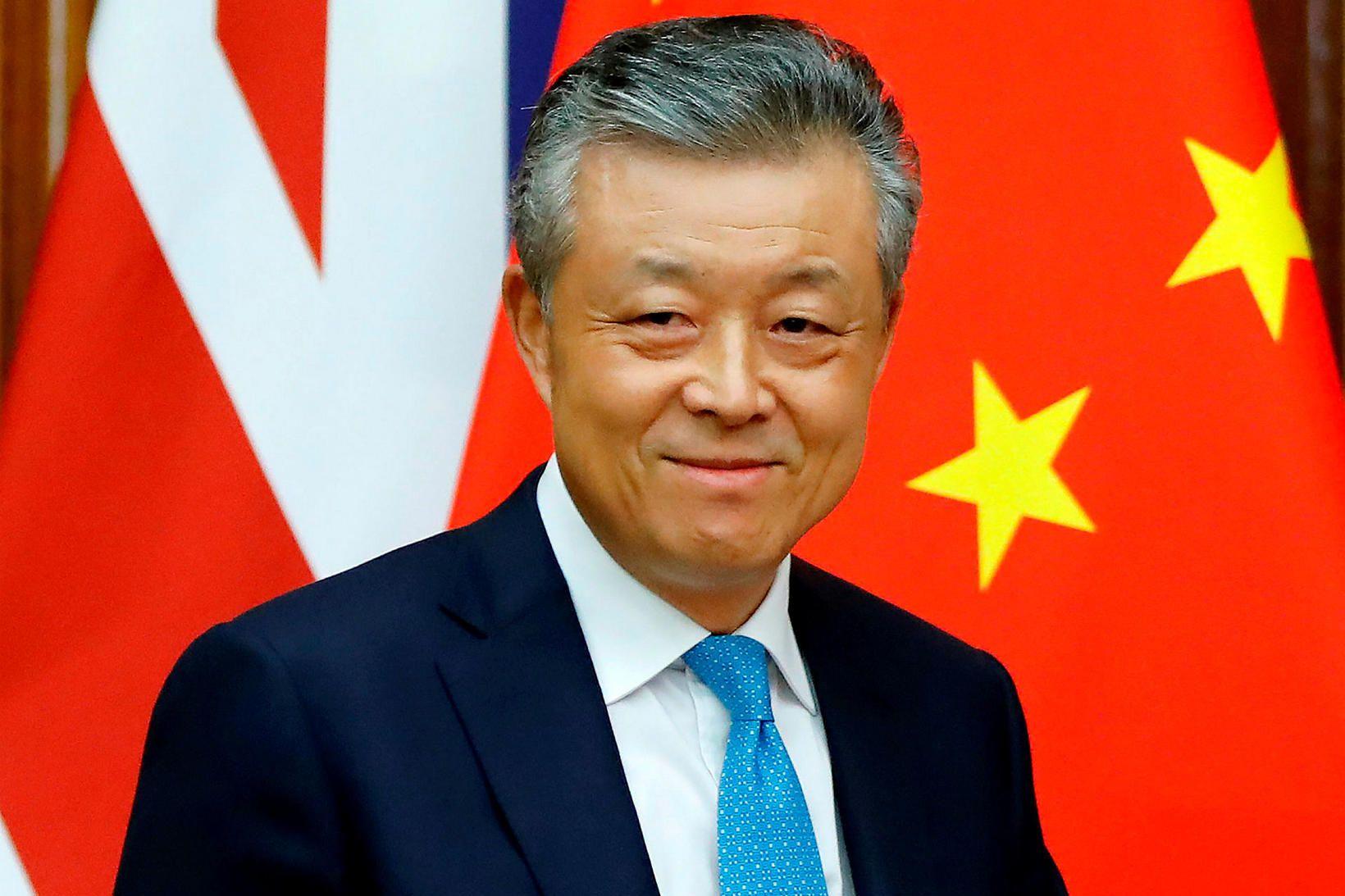 Liu Xiaoming, sendiherra Kína á Bretlandi.