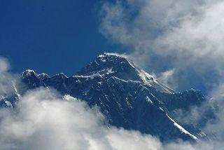 Mount Everest, hæsti tindur veraldar.