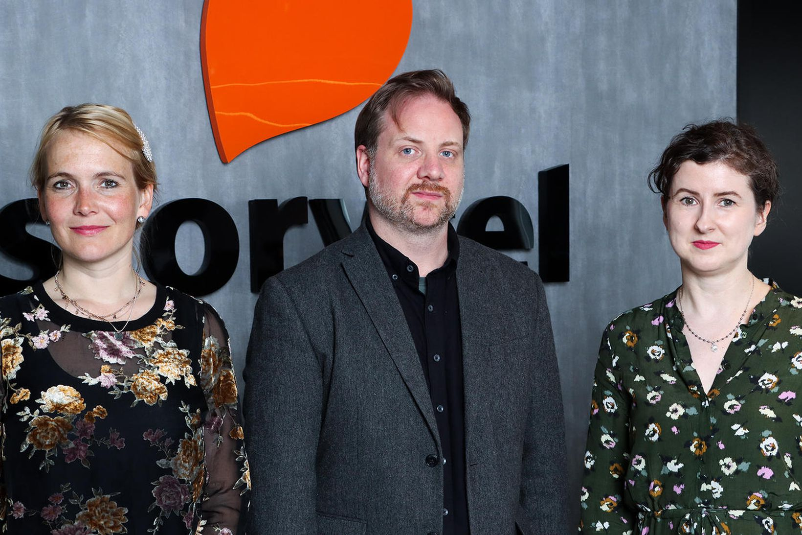 Stella Soffía Jóhannesdóttir, Emil Hjörvar Petersen og Elísabet Hafsteinsdóttir.