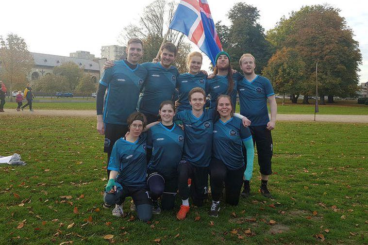 Reykjavík Ragnarök, the Icelandic quidditch team.