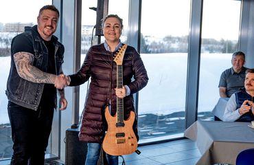 Ingibjörg Elsa vann rokkgítar