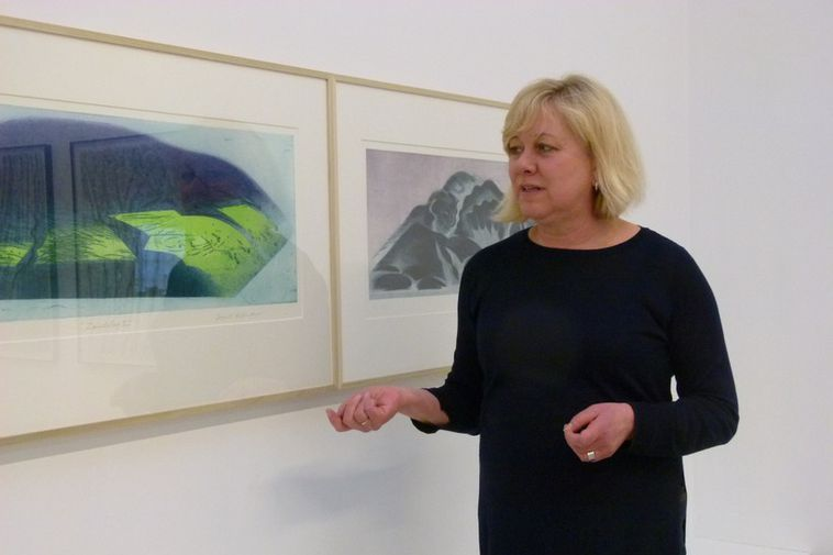 Curator of the exhibition is the art historian and artist, Aðalheiður Valgeirsdóttir.