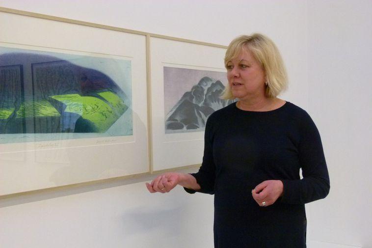 Curator of the exhibition is the art historian and artist, Aðalheiður Valgeirsdóttir.