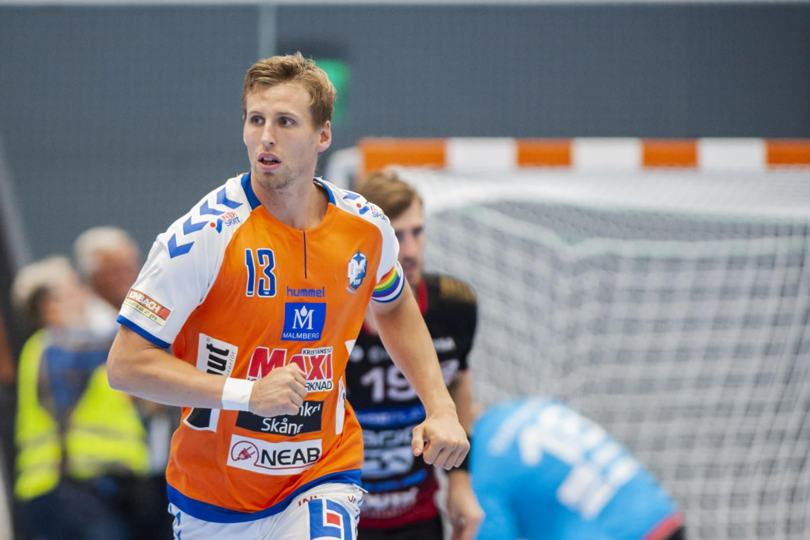 Ólafur Andrés Guðmundsson skoraði 9 mörk í kvöld.