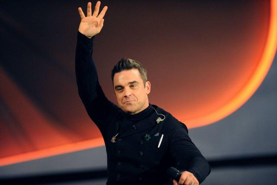 Robbie Williams er hættur við áskorunina.