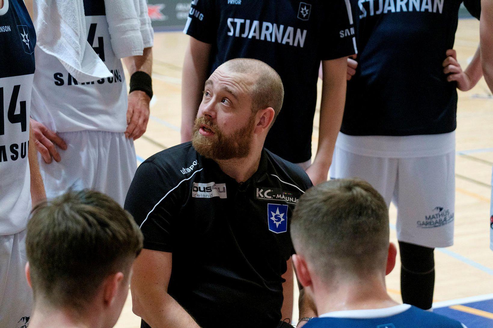 Arnar Guðjónsson þjálfar Stjörnuna.