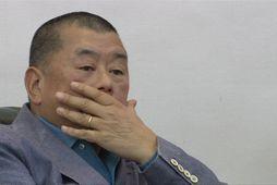 Jimmy Lai handtekinn í Hong Kong