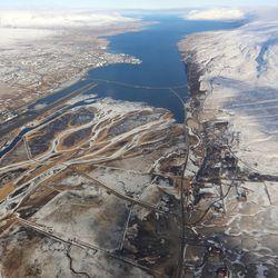 Akureyri - aðflug