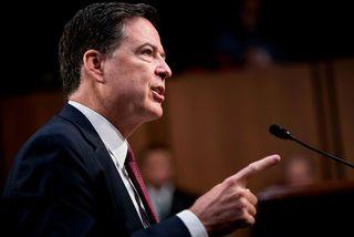 James Comey, fyrrverandi yfirmaður FBI.