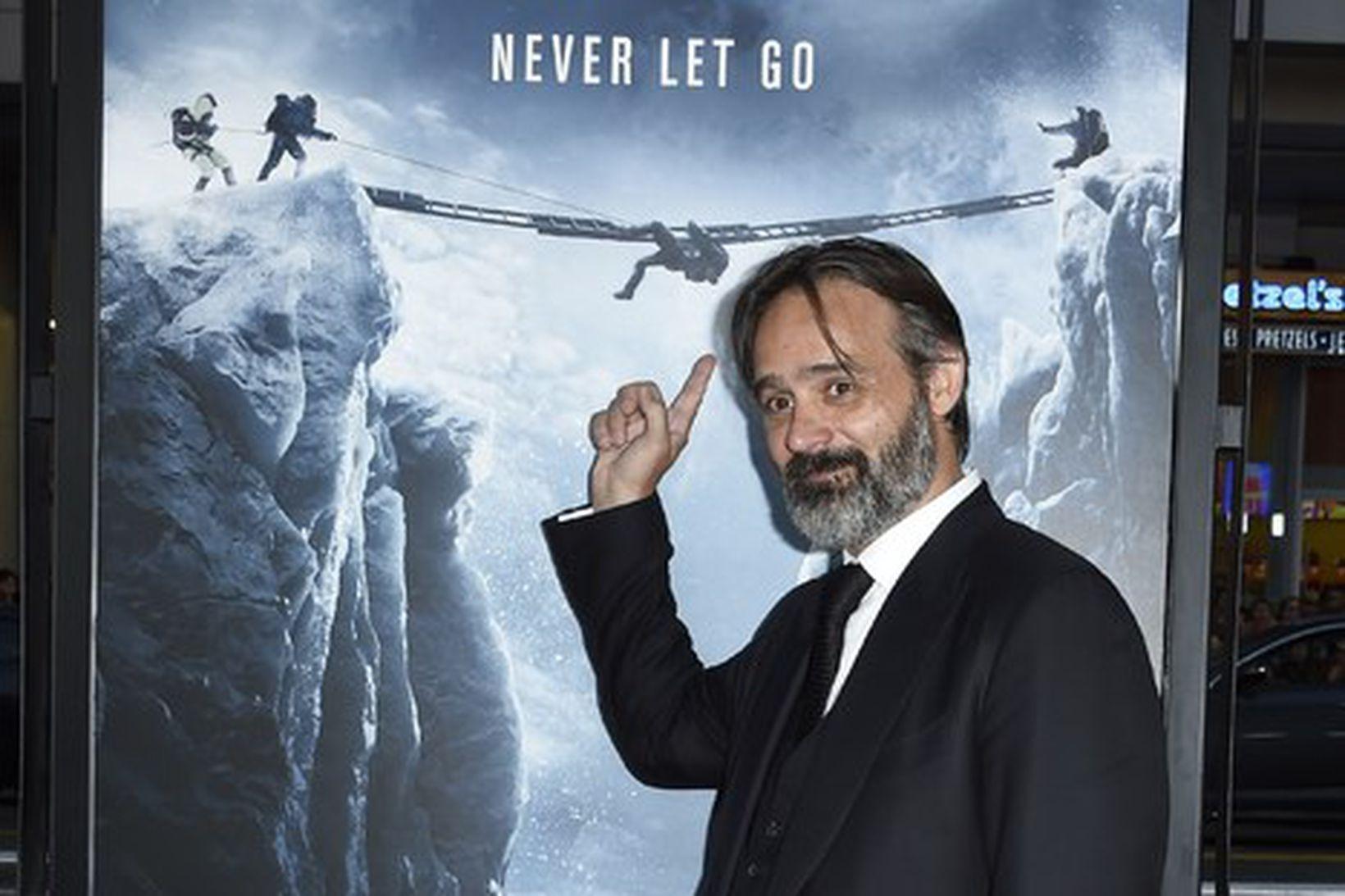 Baltasar Kormákur á forsýningu myndarinnar Everest á Íslandi.