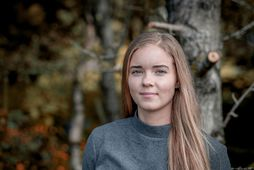 Andrea Rán Snæfeld Hauksdóttir, knattspyrnukona úr Breiðabliki.