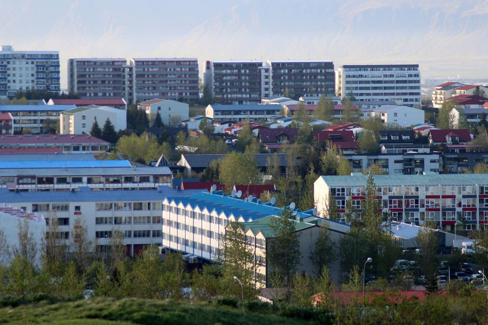 Fella- og Hólahverfi í Breiðholti í Reykjavík.