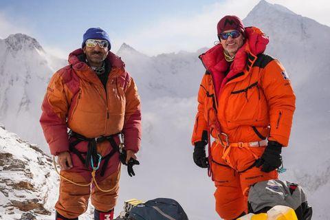 Ali Sadpara og John Snorri.