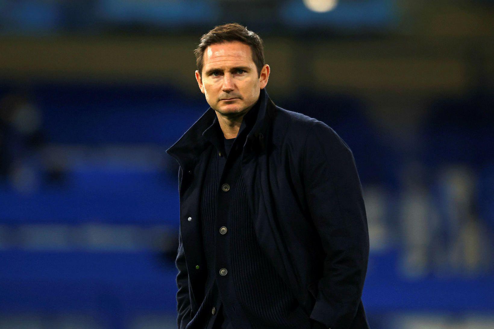 Frank Lampard var knattspyrnustjóri Chelsea þangað til í janúar.