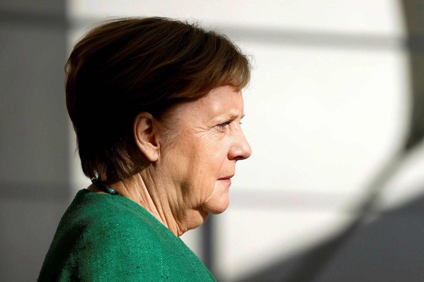Angela Merkel kanslari Þýskalands hefur miklar áhyggjur af fjölgun nýrra …