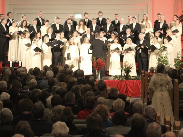 The Motet Choir of Hallgrimskirkja annual Christmas concert