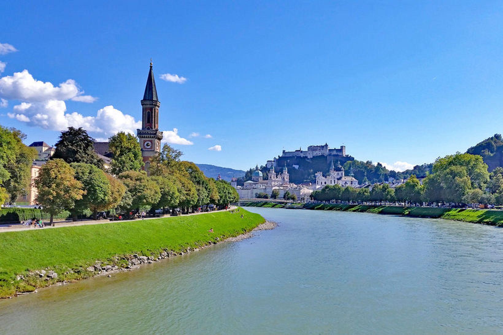 Salzburg er besta borgin til að heimsækja 2020.