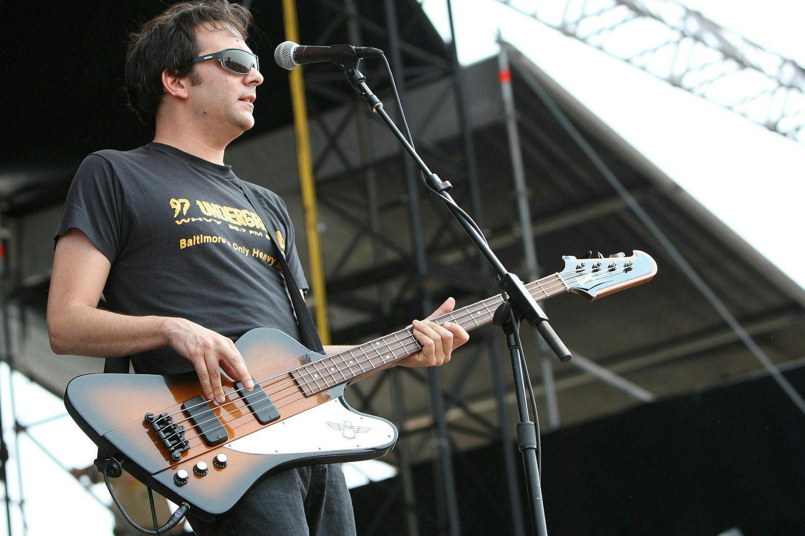 Adam Schlesinger á sviði árið 2007.