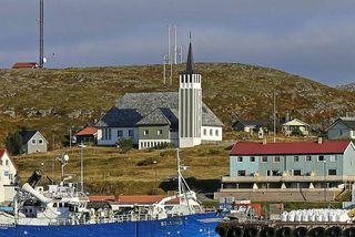 Frá Mehamn í Norður-Noregi.