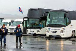 150 af um 350 starfsmönnum Kynnisferða hefur verið sagt upp.