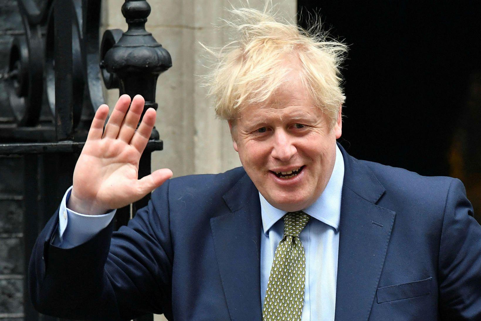 Boris Johnson á að hafa sagt við ráðherra sína að …