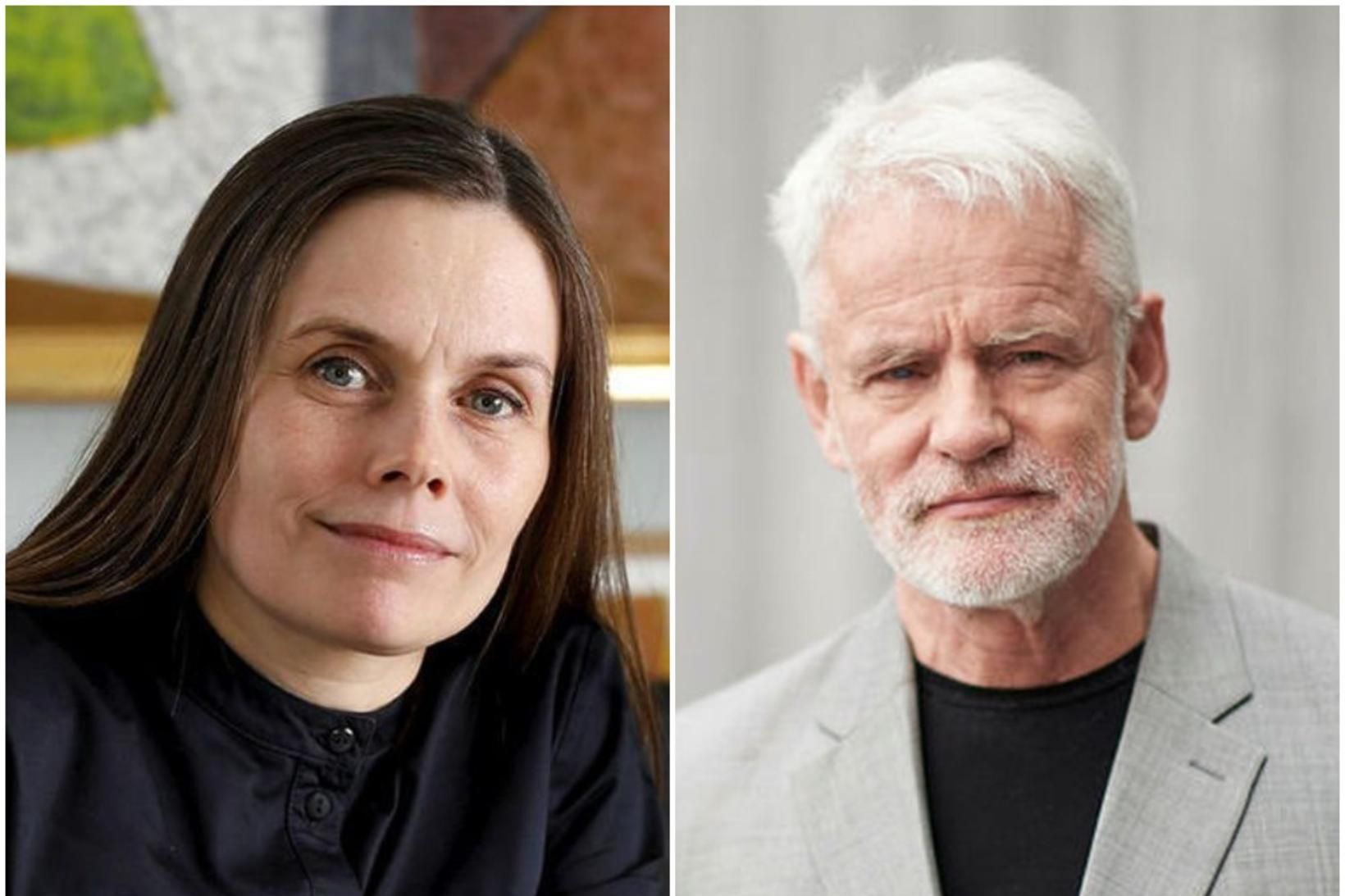 Katrín Jakobsdóttir og Kári Stefánsson funduðu í dag.
