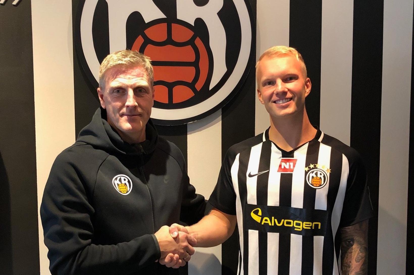 Emil Ásmundsson gekk til liðs við KR frá Fylki í …
