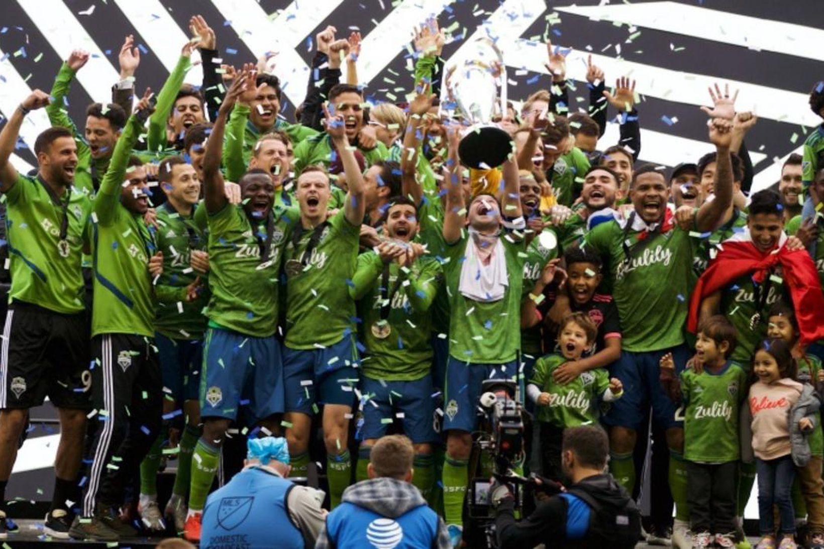 Seattle Sounders eru ríkjandi MLS-meistarar.