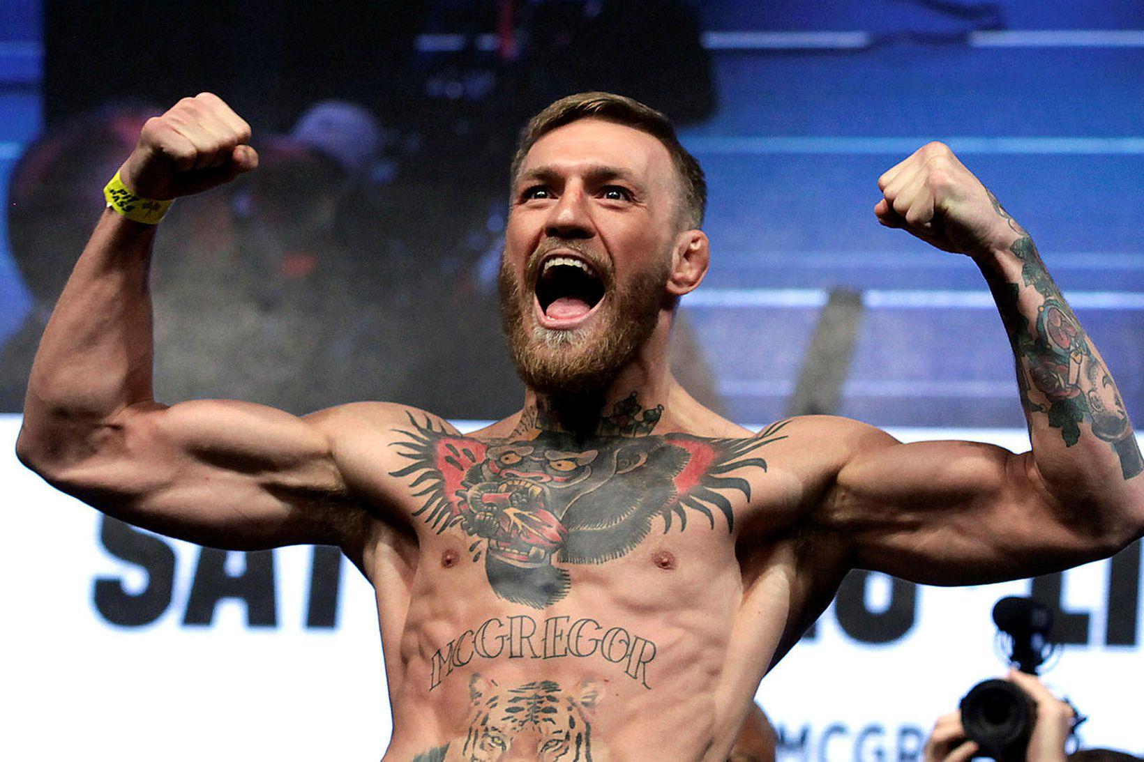 Conor McGregor tilkynnti í gær að hann væri hættur að …