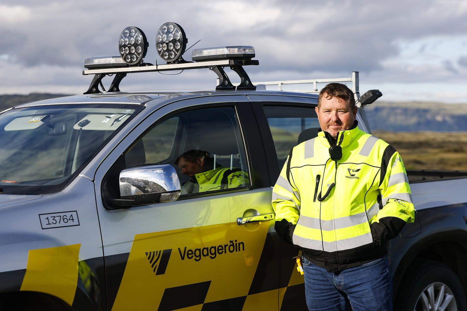 Ágúst Freyr Bjartmarsson, yfirverkstjóri Vegagerðarinnar á Vík.