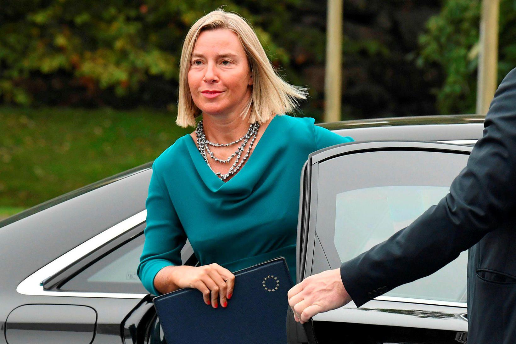 Federica Mogherini, utanríkisstjóri Evrópusambandsins.