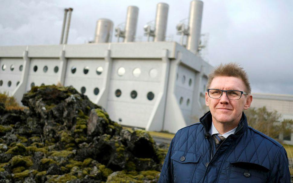 Ásgeir Marteinsson forstjóri HS Orku.