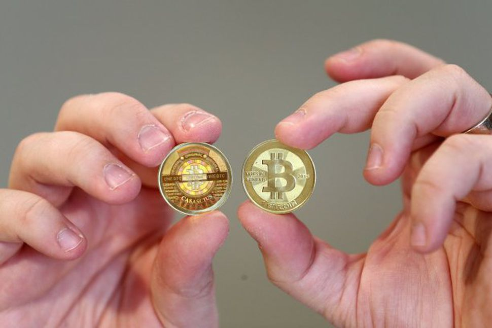 Bitcoin er rafrænn gjaldmiðill, en í Bandaríkjunum er hægt að ...