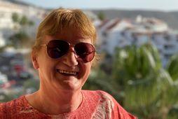 Anna Kristjáns nýtur lífsins á Tenerife um þessar mundir en þar hefur hún búið í …