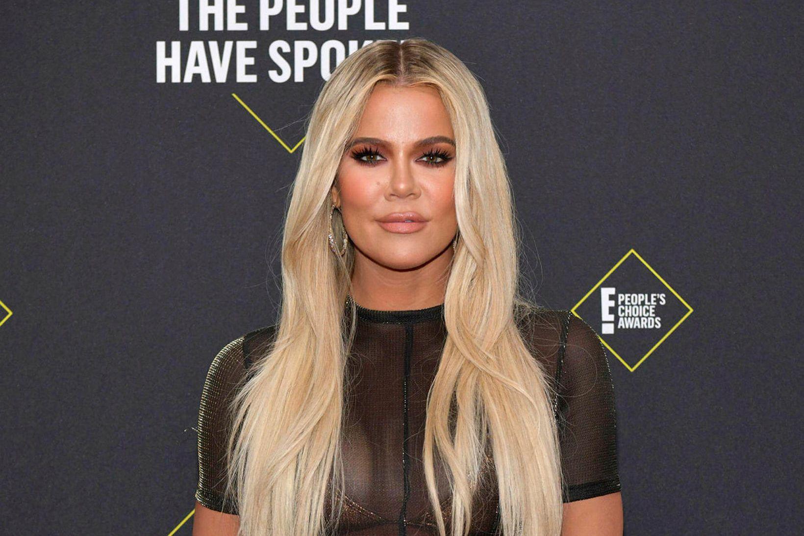 Khloé Kardashian var með veiruna fyrr á þessu ári.