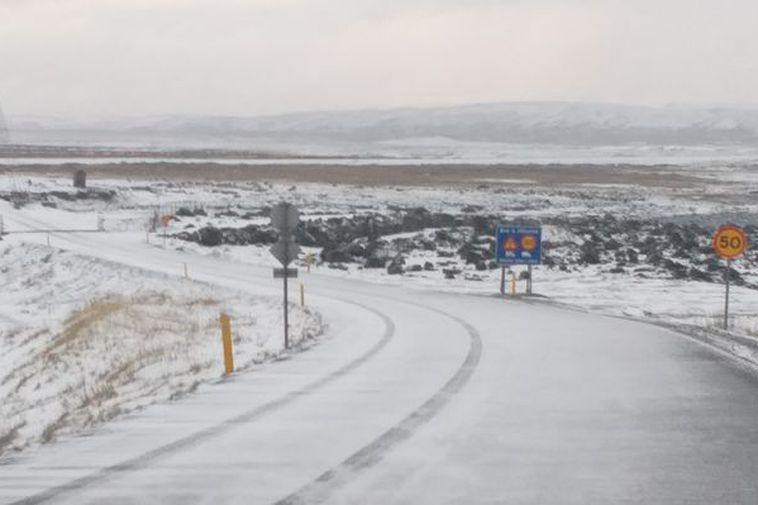 Snow showers are forecast for North and East Iceland in the next two days. This ...