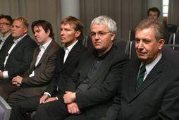Stjórn FL Group árið 2005:Kevin Stanford varamaður, Magnús Ármann, Sigurður Bollason, Þorsteinn M. Jónsson, Skarphéðinn ...