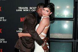 Kylie Jenner og Travis Scott.