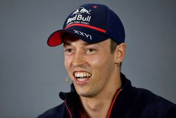 Rússinn Daniil Kvyat hjá Toro Rosso.