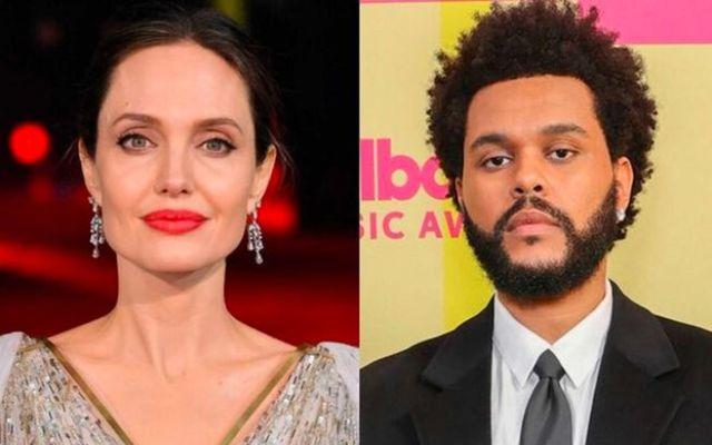Angelina Jolie og The Weeknd virðast vera að hanga eitthvað saman en hvers vegna vitum …