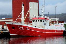 Patrekur BA 64 frá Patreksfirði var aflamesti línubátur landsins í febrúar 2021.