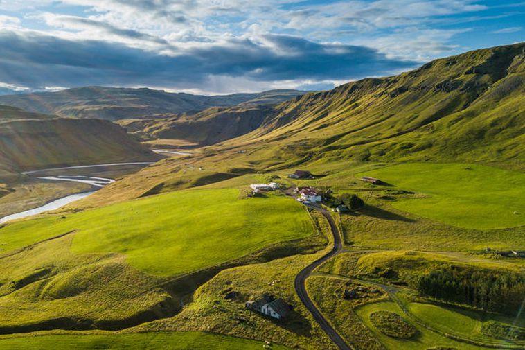 The farm Mörtunga is located east of Kirkjubæjarklaustur, South Iceland.