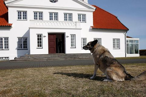EYES ON THE PRIZE: Bessastaðir is the official residence of the President of Iceland.