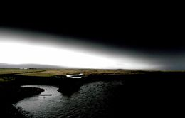 Dimmt var yfir Landeyjum suma daga í maí þegar öskunni rigndi niður.