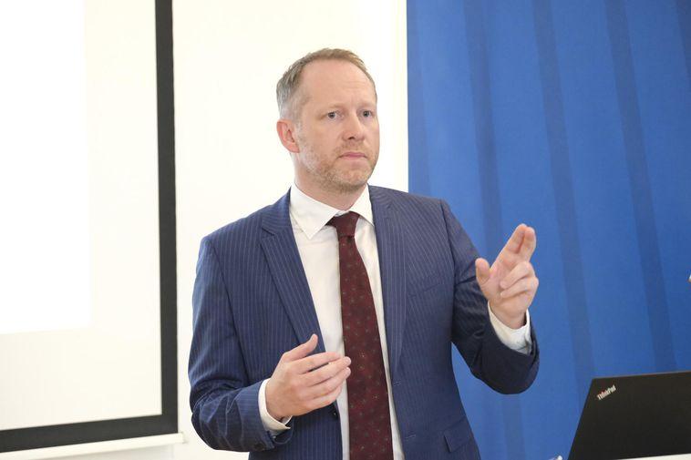 Minister for the Environment Guðmundur Ingi Guðbrandsson.