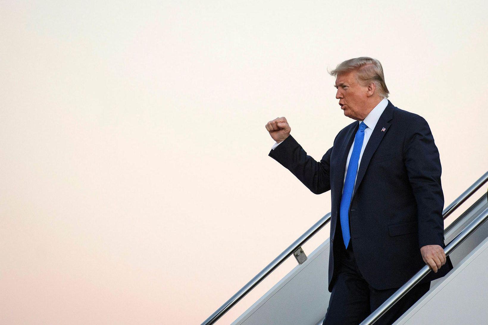 Trump þykir Kína hafa svo sterkan efnahag að landið þurfi …