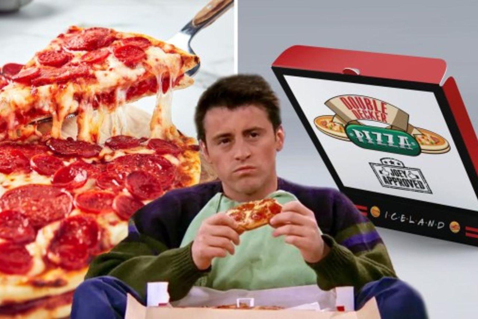 Karakterinn Joey Tribbiani úr sjónvarpsþáttunum Friends, var sólginn í pítsur. …