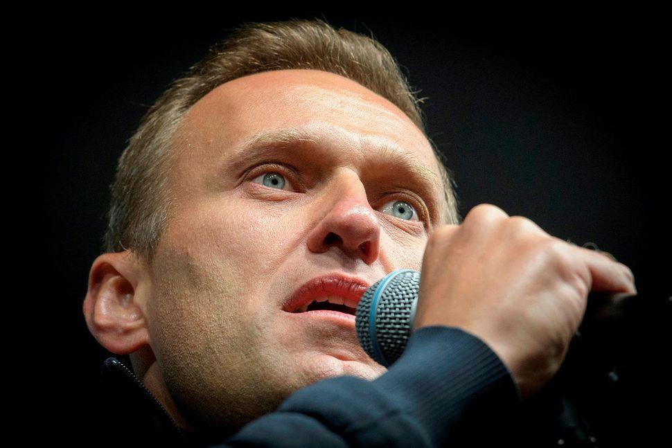 Alexei Navalny, leiðtogi rússnesku stjórnarandstöðunnar og stofnandi samtakanna FBK sem ...