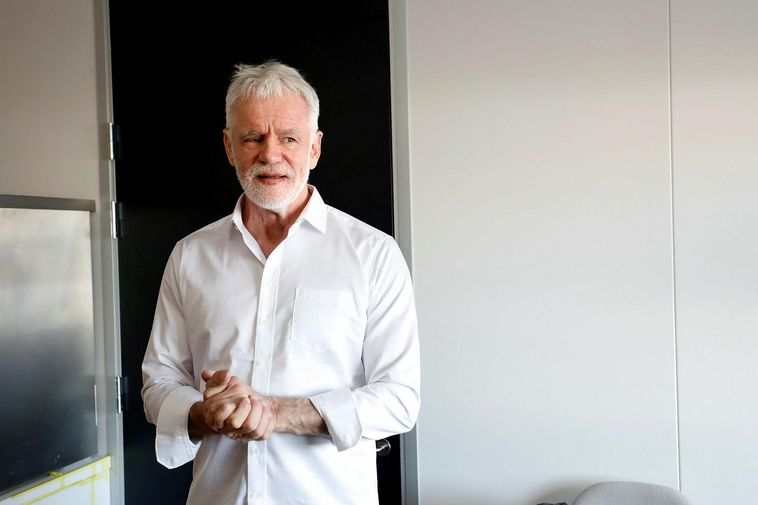 Kári Stefánsson, CEO of deCode Genetics.