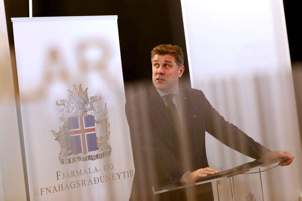 Bjarni Benediktsson fjármálaráðherra kynnti fjárlagafrumvarp næsta árs á mánudag. Töluverðar ...